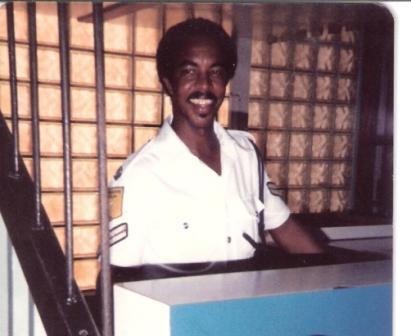 Immigration officer Eddie Gillett