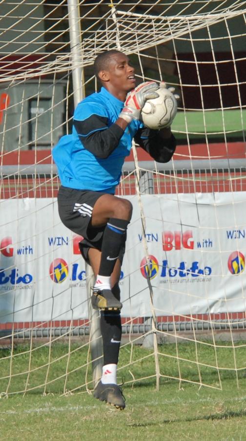 Randy Poleon of Saint Lucia in action