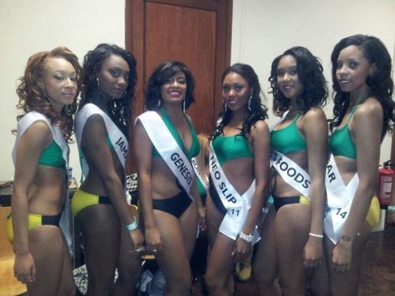 Miss Jamaica 2012.