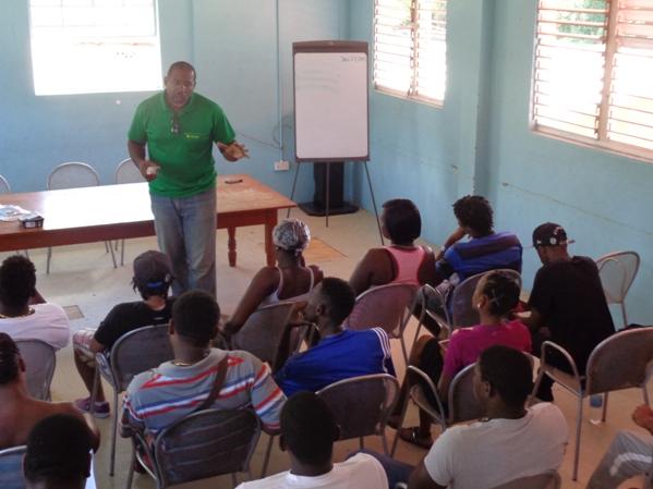SSF Chaorman addresses FFH Kick-Off meeting participants