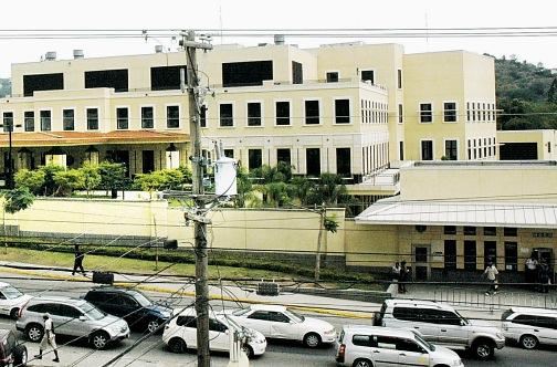 US Embassy in Jamaica. Photo courtesy www.jamaicaobserver.com