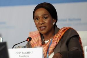 Nozipho Joyce Mxakato-Diseko. Photo courtesy roadtoparis.info
