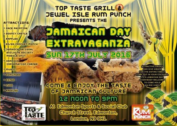 Jamaican Extravaganza 2016