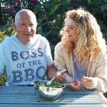 Father & Daughter Gardening Duo