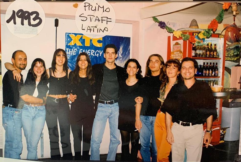 Primo staff Baristi Caribe 1993