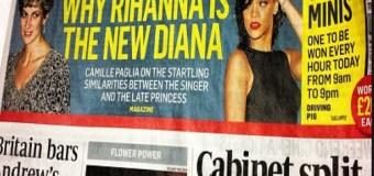 Rihanna Compared to Princess Diana