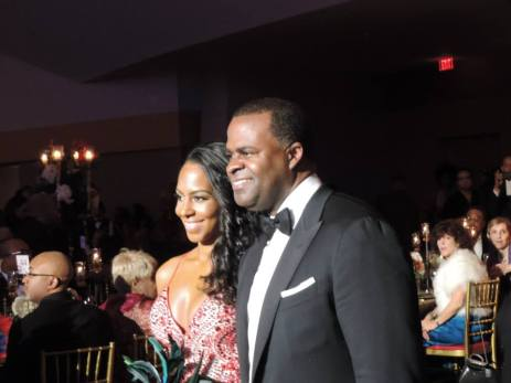 Mayor Kasim Reed and Sarah Langford