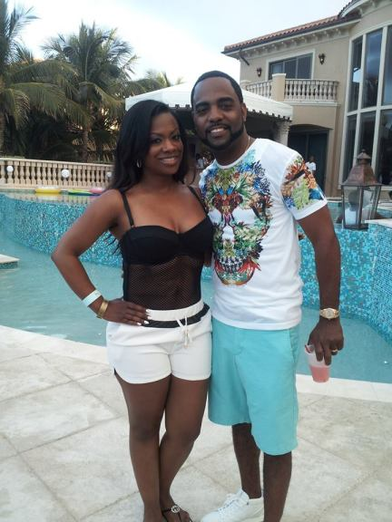 Newly weds Kandi Burruss-Tucker, and Todd Tucker