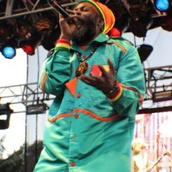 Reggae Legend Capleton performs at 2015 Nine Mile