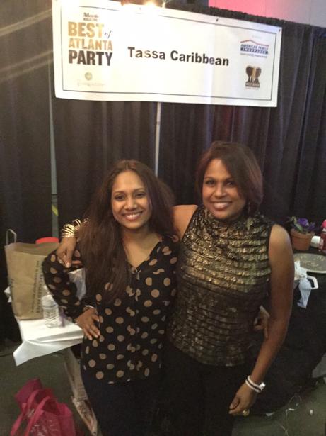 Atlanta Magazine Celebrates Best of Atlanta Caribbean Tassa Roti