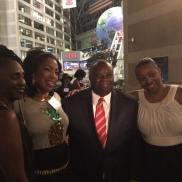 Governor Mapp with USVI Ambassadors