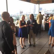 USVI PR Team greets media and guests