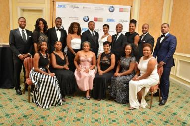 The 2015 BESLA Board of Directors before the Gala Dinner & Awards at the Hyatt Ziva Rose Hall in Montego Bay, Jamaica