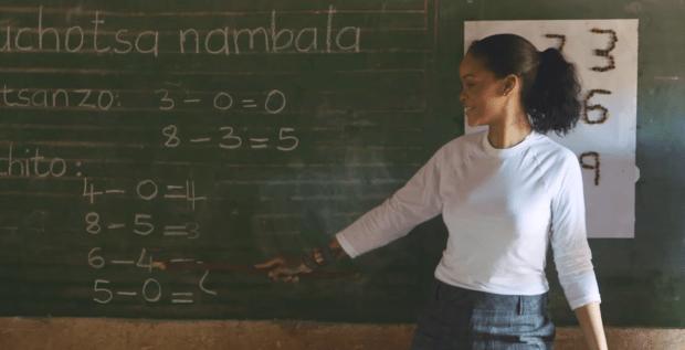 Rihanna fights Global Education