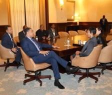 Prime Minister Holness and Atlanta Mayor Bottoms