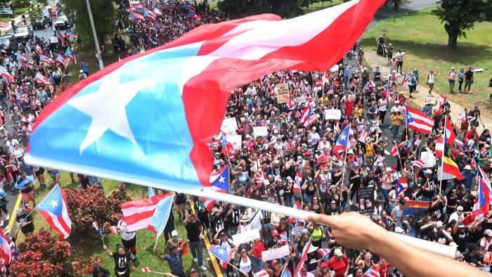 Puerto Rico Protestors
