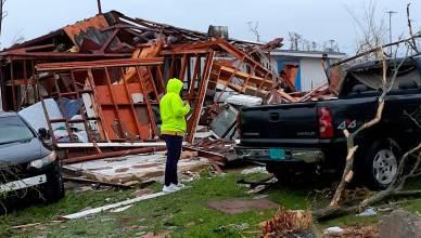 Hurricane Dorian hits Bahamas islands at Category 5