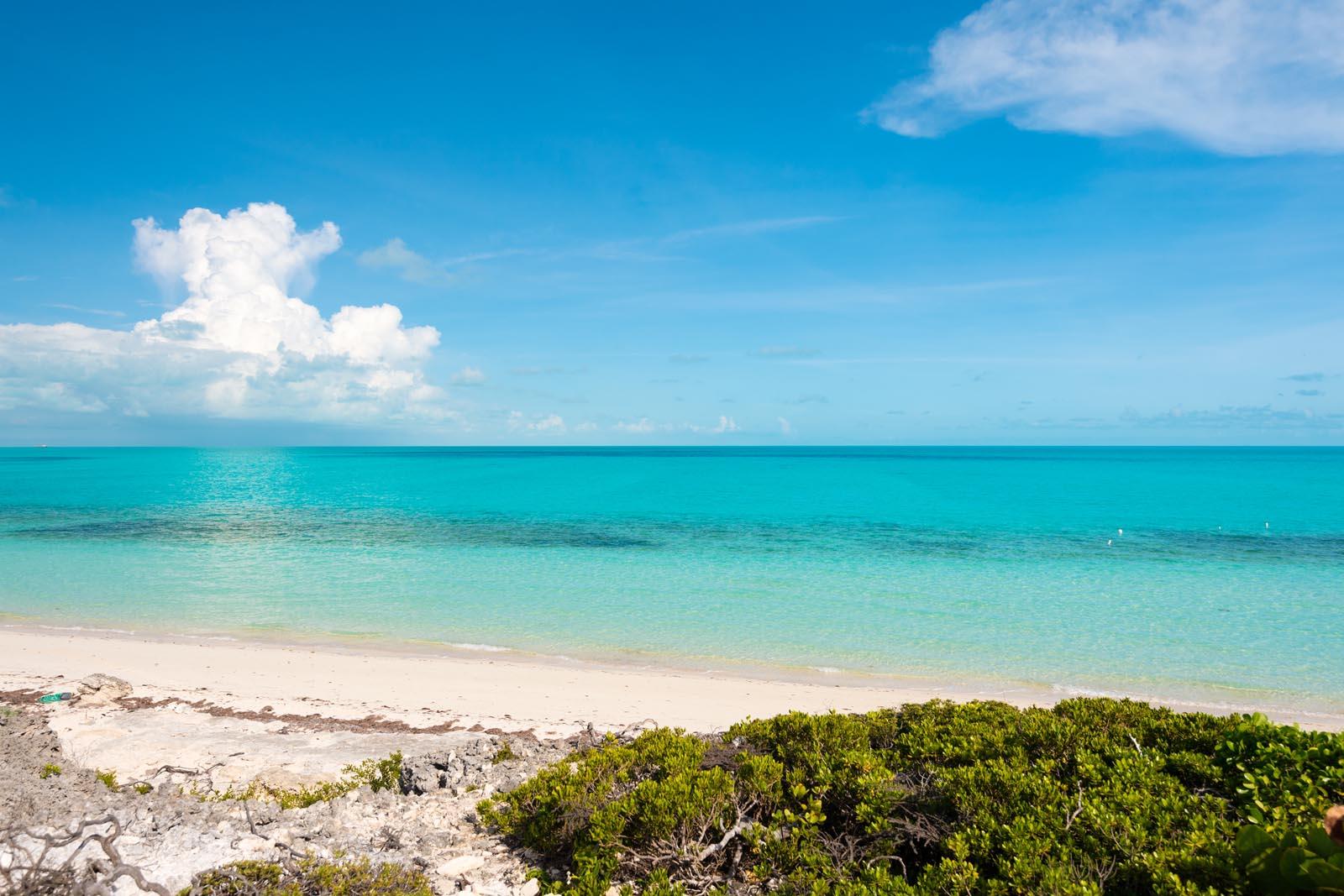 Villa Isla Long Bay Beach Providenciales Provo Turks And Caicos Islands Caribbean Villa