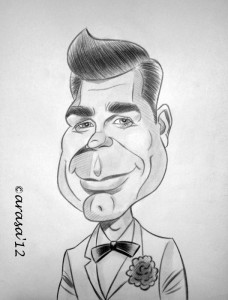 Caricatura de James Bond