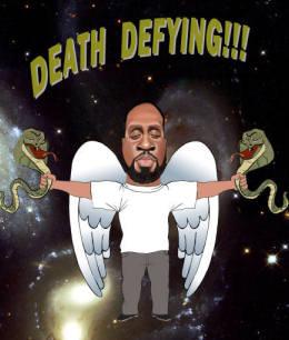 Big fella is death defying