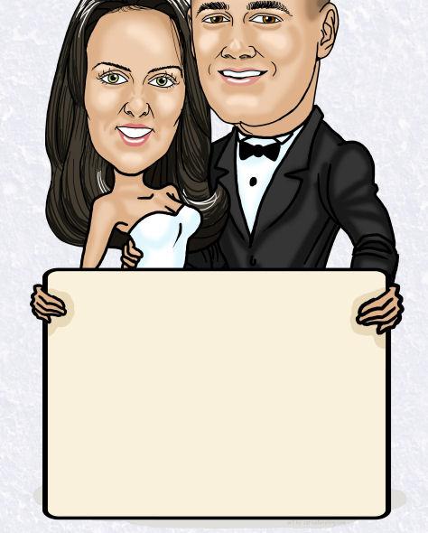 custom wedding invitation idea