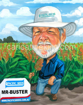 farmer caricature