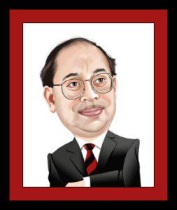 businessman gift caricature from caricatureking.com