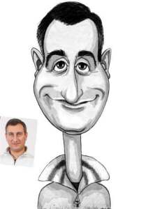 caricature from this photo