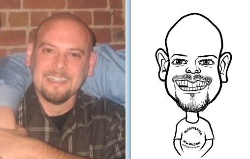 caricatue from photo