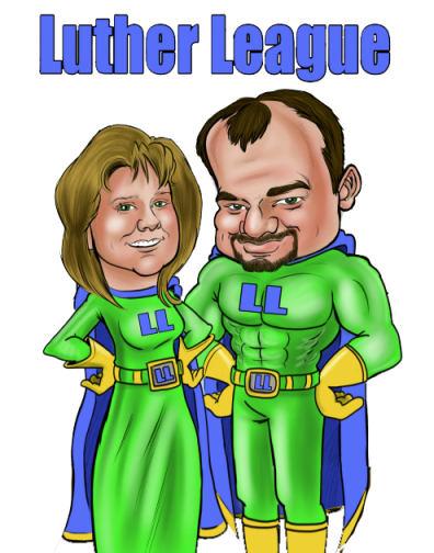 super hero couple