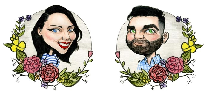 wedding invitations archives caricatures
