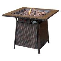 Blue Rhino GAD1001B - Propane Tile Gas Fire Pit Table ...