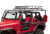 Body Armor 4x4 TJ-6124-2 - Roof Rack Base, Side Tubes and ...
