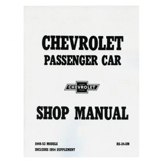 1954 Chevy Corvette Auto Repair Manuals at CARiD.com