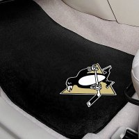 FanMats 10356 - Black Carpet Mats with Pittsburgh ...