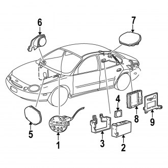 2007 Ford Taurus Stereo & Video Installation Parts — CARiD.com