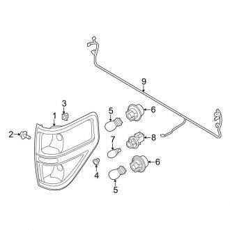 Wiring Diagram PDF: 2003 Ford F 150 Tail Lights Fuse Diagram