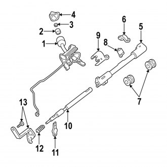 1997 Ford F-150 Steering Columns, Shafts, Parts — CARiD.com