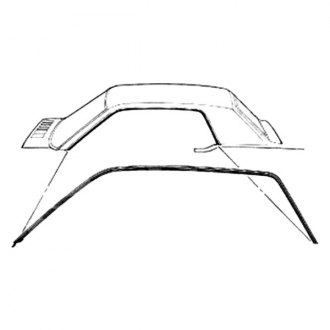 1967 Mercury Cougar Replacement Roofs