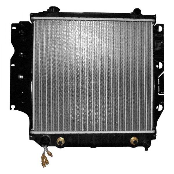 2002 Jeep Wrangler Engine Coolant