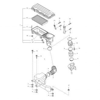 2003 Kia Rio Replacement Air Intake Parts