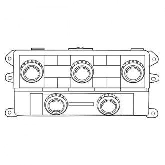 2009 Dodge Grand Caravan A/C Relays, Sensors & Switches