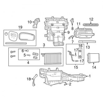 2010 Chrysler Town and Country A/C Expansion Valves