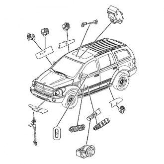 2006 Dodge Dakota Power Window Motors & Switches — CARiD.com