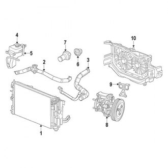 2007 Chrysler Sebring Replacement Engine Cooling Parts