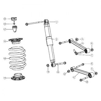 2007 Jeep Grand Cherokee Replacement Suspension Parts
