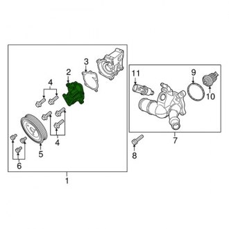 2015 Jeep Renegade Replacement Engine Cooling Parts
