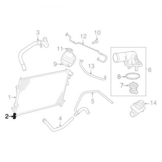 2017 Dodge Journey Replacement Radiators & Components