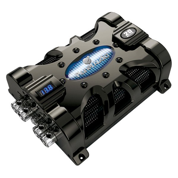 Amazoncom Planet Audio Pc20f 20 Farad Capacitor Car Electronics