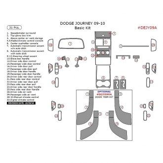 2010 Dodge Journey Custom & Factory Headlights